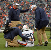 3 more Auburn players injured on A-Day, 3 veterans held out
