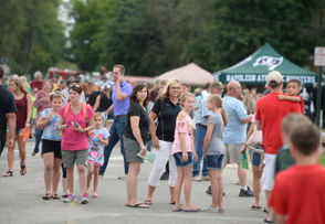 Photos from the Napoleon Community Schools block party.