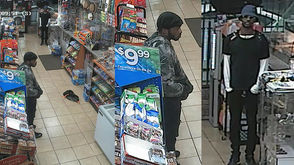 NOPD released photos of two persons of interest in a homicide at a Fuel Express Mart in Little Woods.