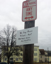 It's war: Springfield City Council considers $300 fine for illegal signs on utility poles (photos)