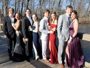 Portage Central celebrates 'A Moment in Time' at 2018 prom