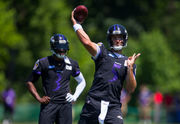Baltimore Ravens' Joe Flacco: Lamar Jackson questions won't get annoying if we win