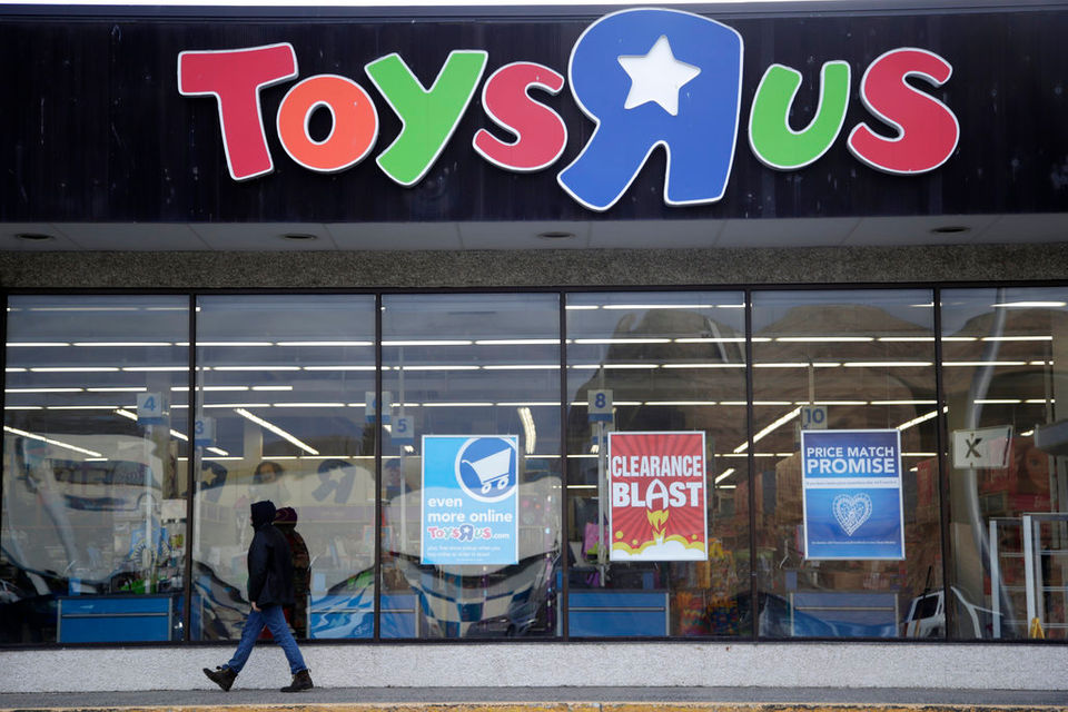 Toys r us going out of business when will sales start stores ap photojulio cortez 2018 a person walking near the entrance to a toys r us store in wayne nj reheart Image collections