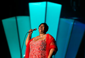 Photos from Aretha Franklin's New Orleans shows over the years.