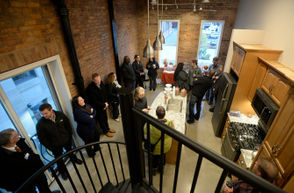 Photos showing the new Lofts of Jackson in downtown Jackson.