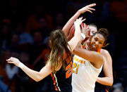 Mikayla Pivec, Marie Gulich lead Oregon State women to NCAA Tournament upset of Tennessee