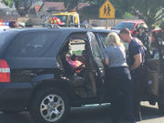 Woman hurt as SUVs collide at 'really bad' P'burg intersection (PHOTOS)
