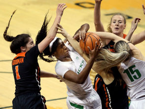 The No. 3 Oregon Ducks and No. 9 Oregon State Beavers women's basketball programs are set to square off Friday night in one of the most anticipated regular season games of the year. And if readers follow recruiting, they might have seen this level of success coming for both programs. Oregon and Oregon State each start four former five-star prospects and have at least one former five-star-caliber prospect coming off the bench this season. Here's how key contributors for the Beavers and Ducks were ranked coming out of high school: