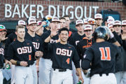 Oregon State baseball holds steady at No. 2 in the rankings
