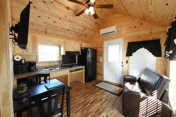 Check out the new camper cabins at Guntersville State Park