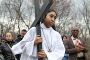 Staten Islanders reenact final footsteps of Jesus in Good Friday procession