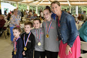 Olympic gold medalist Kacey Bellamy helps Stanley Park 'Go for the Gold'
