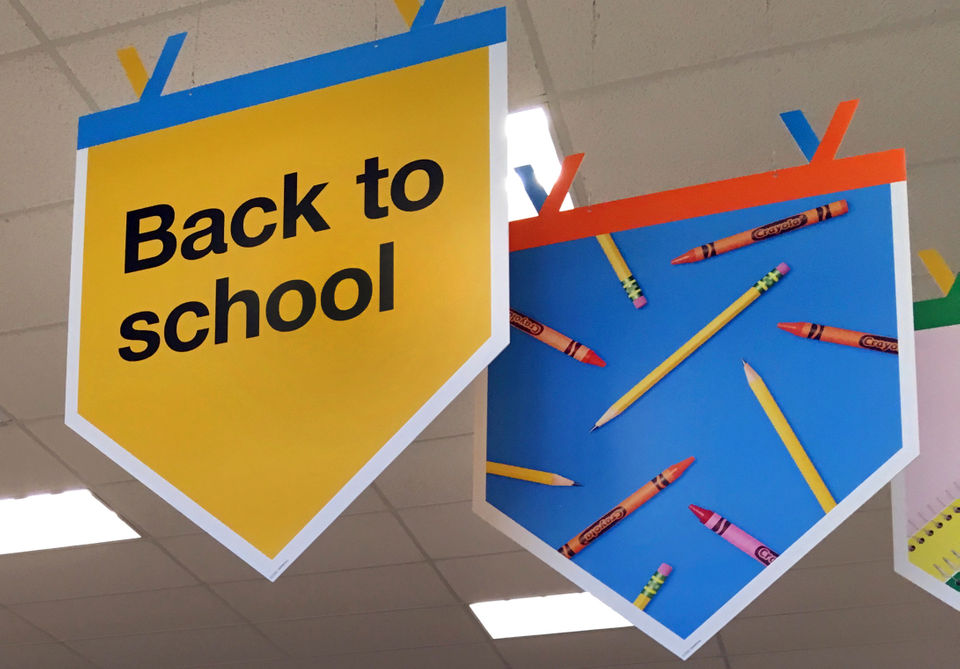 Stocking up for back-to-school can be eco-friendly and economical