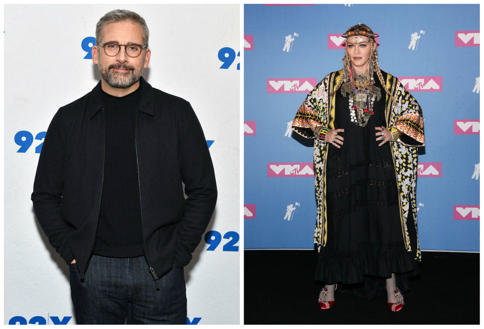Today's famous birthdays list for August 16, 2019 includes celebrities Steve Carrell, Madonna