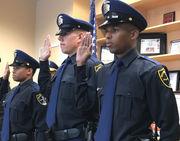 3 more rookies sworn in as Birmingham police officers