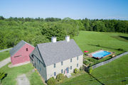 House of the Week: Classic colonial features exposed beams, three-story barn
