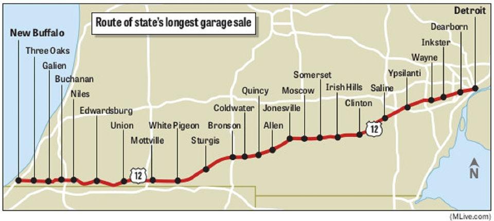 180 Miles Of Bargain Hunting Returns With Michigan S Longest Garage