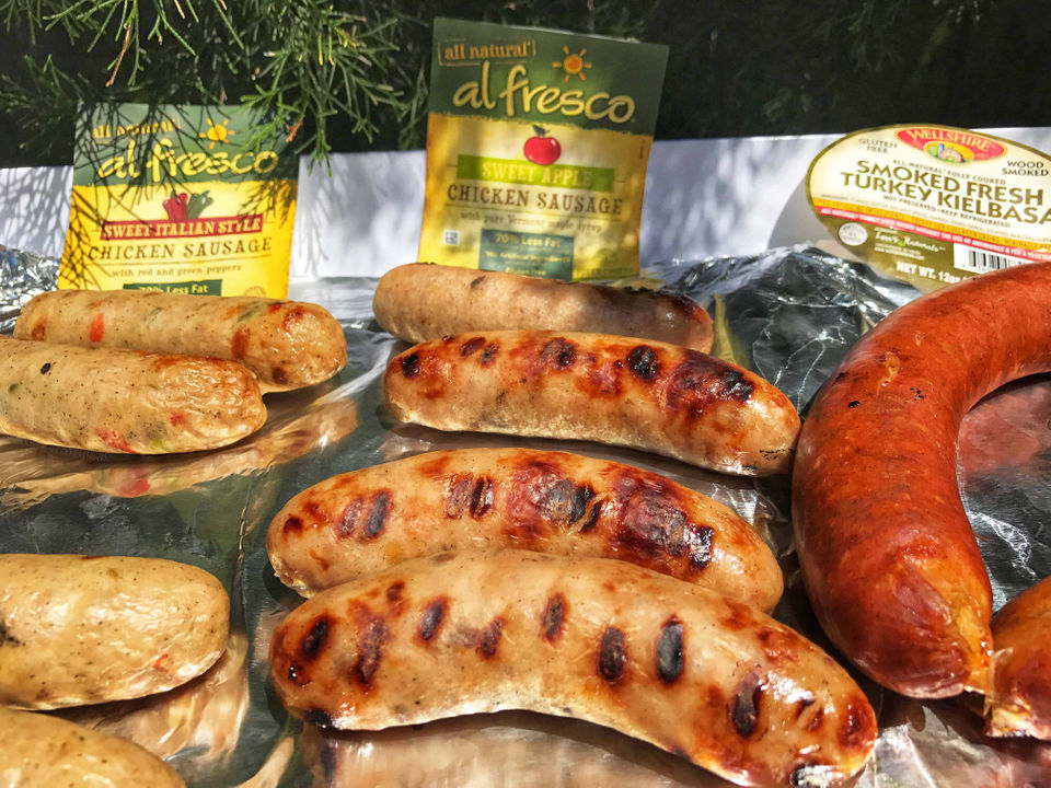 The Best Tasting Chicken Turkey Sausages Flavorful And Better For