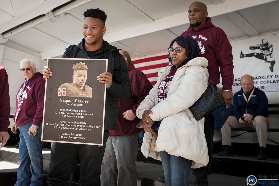 Meet Saquon Barkley S Daughter As The Penn State Star