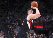 Portland Trail Blazers' Zach Collins boosting biceps and inside game at NBA Summer League