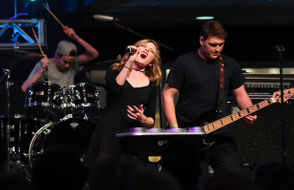 First to Eleven, captured during a 2017 performance, returns to try to recapture the crown it has twice won in the Tri-C High School Rock Off. (Kyle Lanzer, Special to The Plain Dealer)