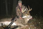 Michigan hunter breaks state record for deer killed with crossbow