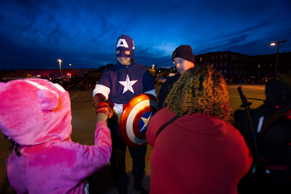 Trenton Polices Trunk Or Treat Celebrates Its 5th Year Njcom