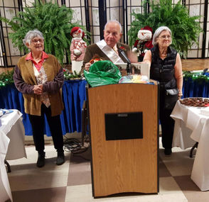 The townspeople of South Hadley thanked state Rep. John Scibak, D-South Hadley, for his work in Boston.