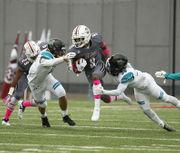 UMass football suffers third straight loss, 24-13, to Coastal Carolina at home