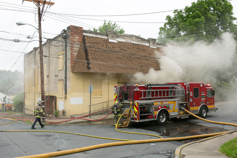 Firefighters Had To Force Our Way Into Easton Blaze P Os Lehighvalleylive Com