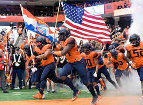 The Orange takes on the Huskies on Saturday, Sept. 22, 2018, at the Carrier Dome.