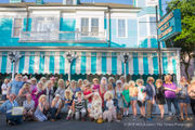 Dolly Parton look-alikes parade down Magazine Street