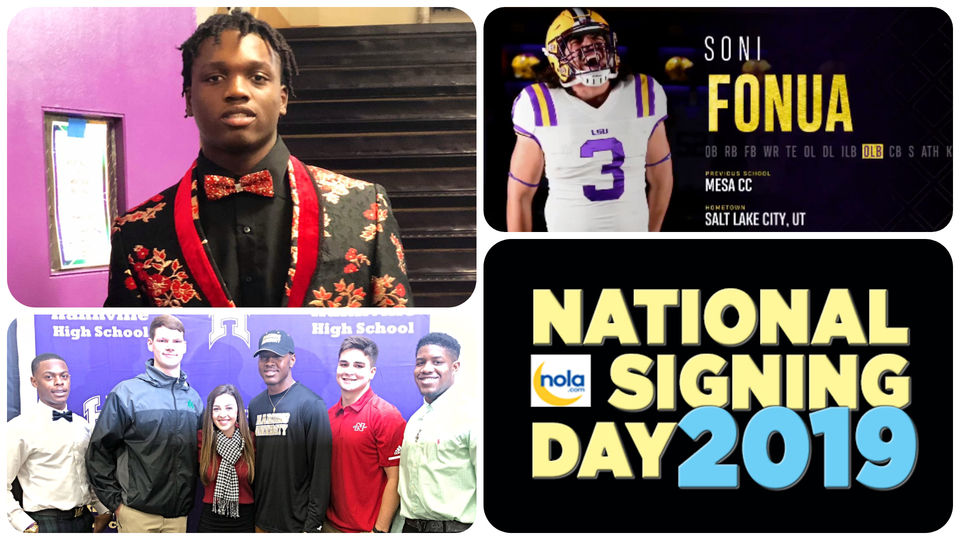 National Signing Day 2019 Live Updates From Local Area Lsu Tulane