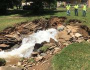 Dual water main breaks create severe flooding on Easton roads (PHOTOS)