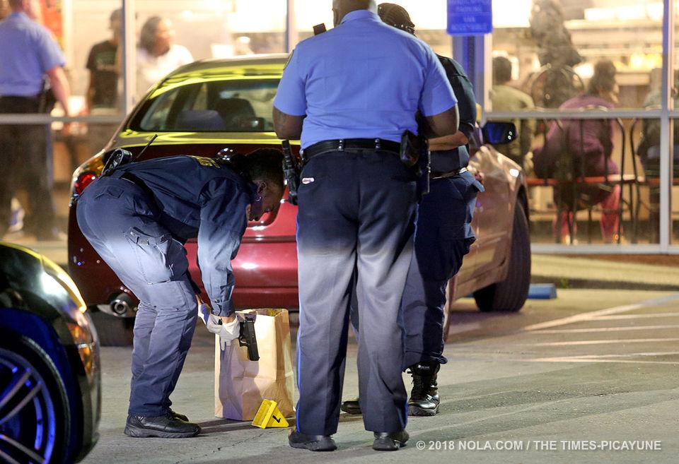 Gunfire at Waffle House
