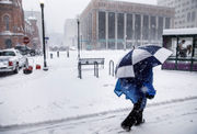 Snow moves out of area, sleet and freezing rain on the way: Full coverage