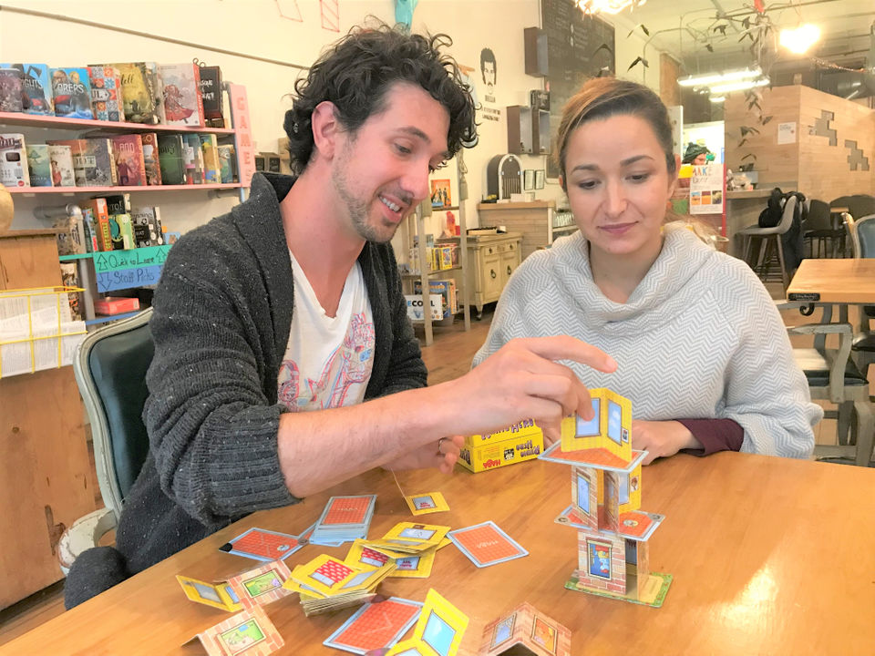 Brady And Shiva Risner Host Local Players At Tabletop Board Game