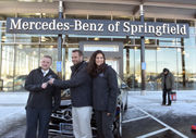 Nathan Vila, Thunderbirds hockey 'Shoot to Win' winner, picks up new Mercedes-Benz (photos, video)