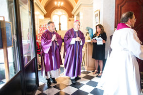 The Catholic church observes a Day of Penance at St. Patrick Cathedral and has a Mass of Forgiveness.
