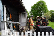 Cigarette sparks house fire in Warren County, marshal says (PHOTOS)