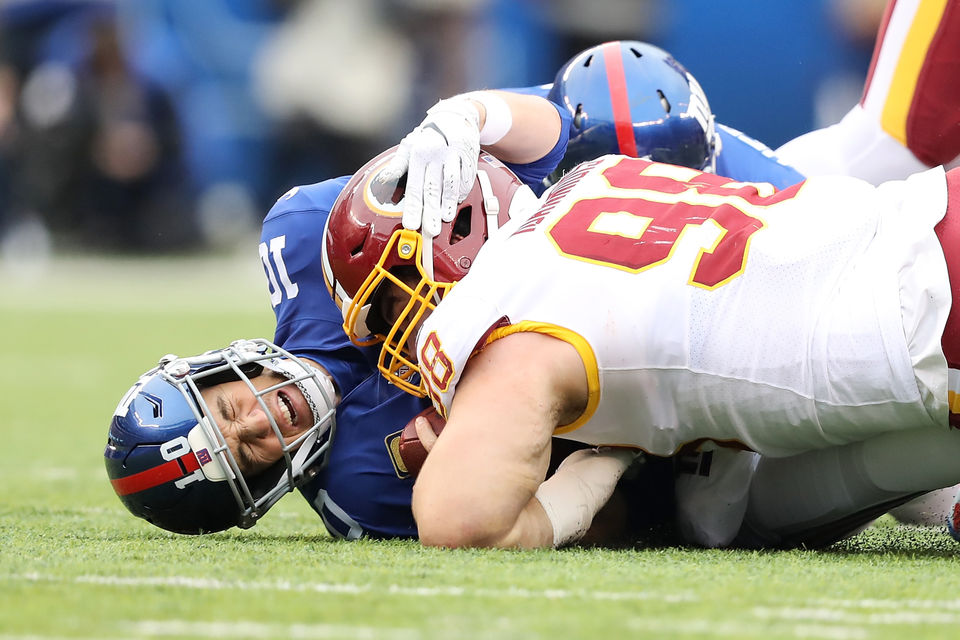 Eli Manning Report Card Was Sundays 20 13 Loss To