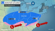 N.J. weather: Weekend snow forecast improves. Here's the latest snowfall total update