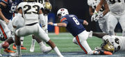 Jarrett Stidham's 3 turnovers costly in Peach Bowl loss to UCF