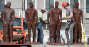 The 'ELEVEN' iron men of Elysian Fields, removed and relocated