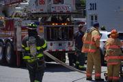 FDNY battles blaze in New Springville home