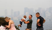 Smoky air in Western U.S. delays flights, raises health concerns