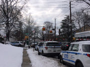 Large NYPD response in Castleton Corners