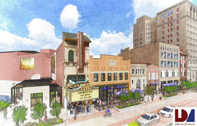 Akron Ohio The Civic Theatre Is Launching A Renovation And Expansion Project Designed To Enhance 90 Year Old Venue S Offerings