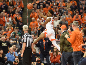 Syracuse's Tyus Battle on wild final minutes: 'It's hard to surprise me' What did Jim Boeheim say to Tyus Battle at halftime? 'I can't repeat everything' Jim Boeheim, Patrick Ewing want more Syracuse-Georgetown games, but it's 'difficult' Follow Syracuse basketball onTwitterandFacebook