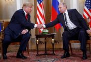 Trump to Putin before private meeting: 'World wants to see us get along'